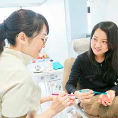 担当衛生士制で安心 | 世田谷通りリキ歯科・矯正歯科
