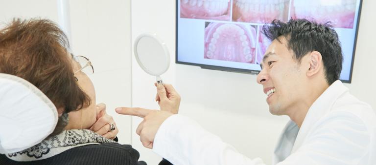 リハビリ用の入れ歯「暫間義歯(ざんかんぎし)」