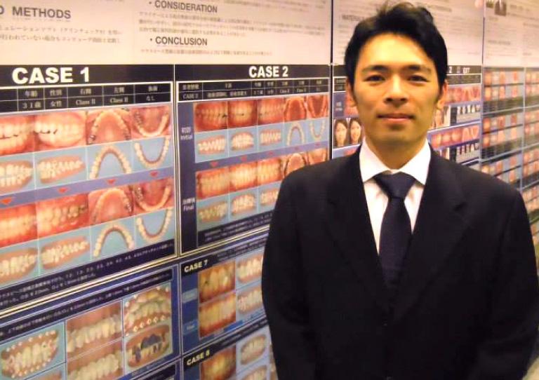 2013 日本矯正歯科学会にてインビザラインに関する3つの学術展示発表